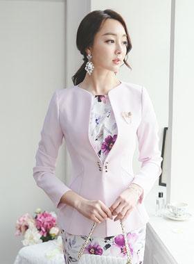 Luxury brooch Corset Jacket