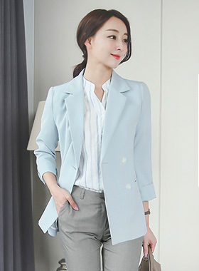 Summer Basic double Jacket