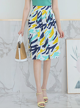 Fresh Touch Gather Skirt