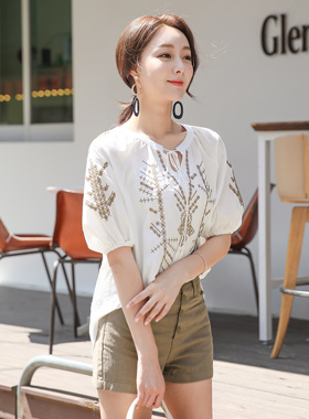 Indian Embroidery Tunic Blouse
