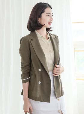 Basic Double-button Cotton Jacket