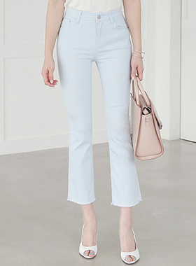 Summer Cotton span Boot cut Pants