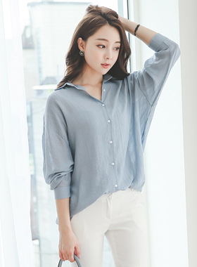 quality See-through look Shirt Blouse