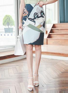 Luxury light High Skirt