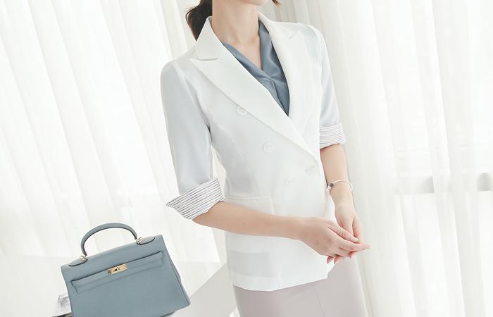 Color line sleeve color scheme Double jacket (sleeve 7)