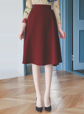Side finch Flare Skirt (fall)