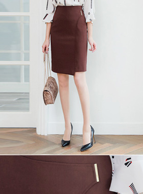 Dana Gold Stick Hline Skirt