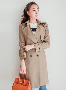 Hepburn Daily double Trench Coat