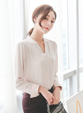 Delight V-neck Blouse