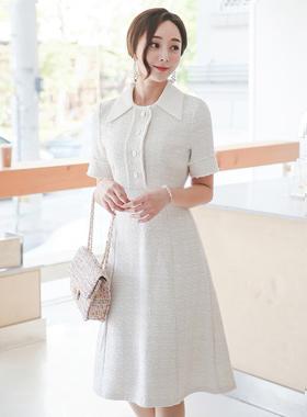 lovely Tweed Big Kara Dress