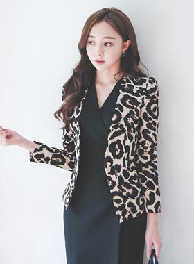Trendy chic Leopard Jacket