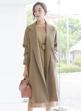 Classic loose fit Taylor Long Coat