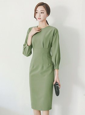Hepburn Slim Pinch Balance Dress