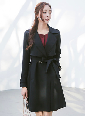 Soft Double wing Trench Coat