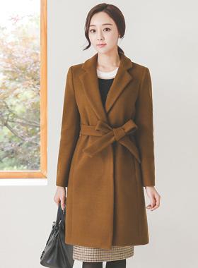 Basic Slim Taylor Long Coat