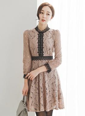 Romantic Stephanie Race Dress