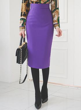Rolling Pinch Slimline Pencil Skirt