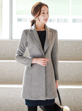 Formal Taylor Slim Wool Coat Ⅱ