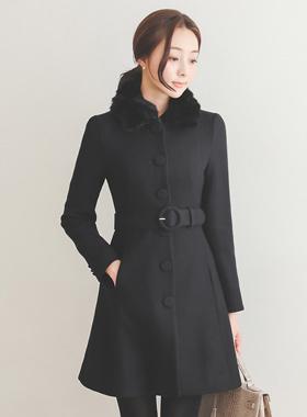 Revit Pera O-Ring Belted Coat