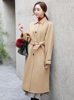 Handmade Easy Pit Taylor Wool Long coat