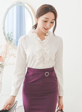 Isabella Romance Frilly Blouse