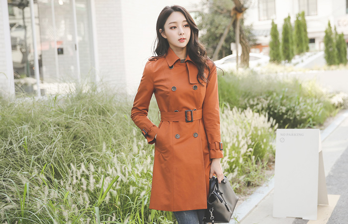 Classic double Trench Coat