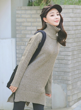 Bocashi Side Paula Long knit
