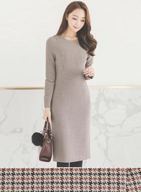 Modern Basic Round Dress
