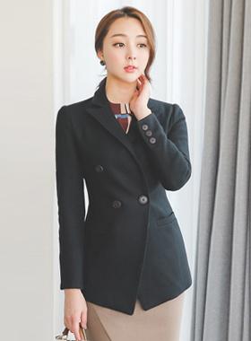 double Taylor Twill Wool Jacket