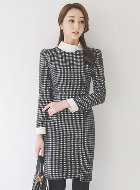 Classic Gingham check color combination Dress