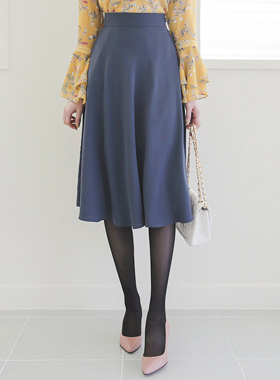 Soft Romance Flared Rong skirt