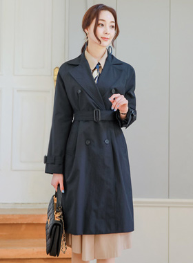 Basic Reglan Coating Trench Coat