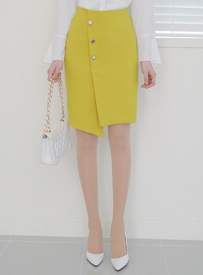 Triple Various Diagonal Unbalance Skirt