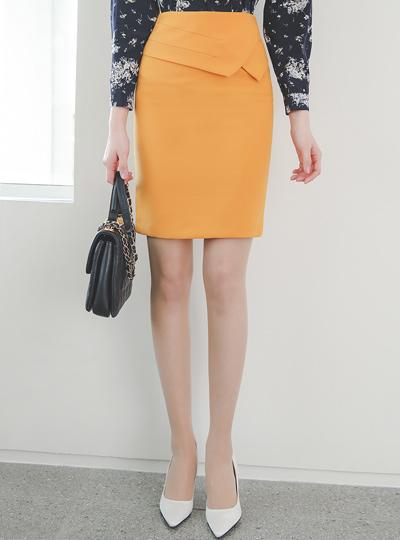 Triple Cutting H-line Span Skirt