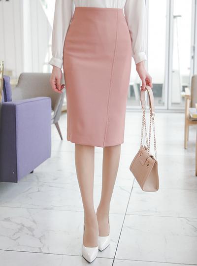 Diagonal Cutting Slit H-line High-Skirt