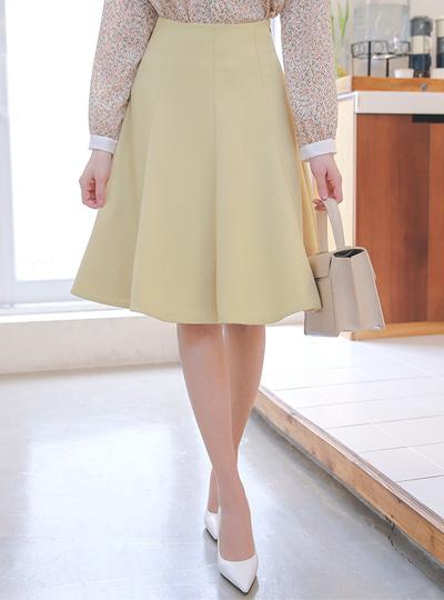 Spring Gored Flared Skirt Ⅱ