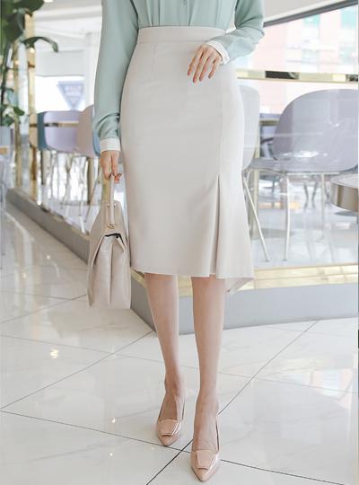 Side Inverted Unbalance Span Skirt