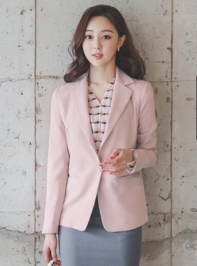 Mode Basic One-Button Single Jacket