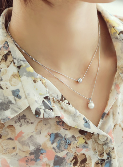 Pearl Necklace Cubic two