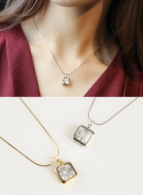Simply square Necklace