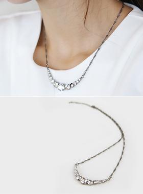 Harp Necklace Cubic line