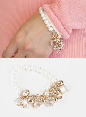 Bundle pearl bracelet