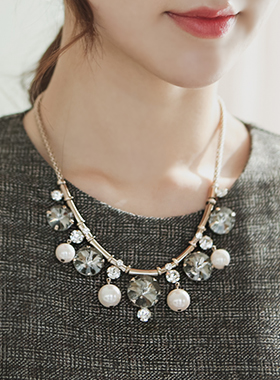 Pearl Necklace Cubic masen