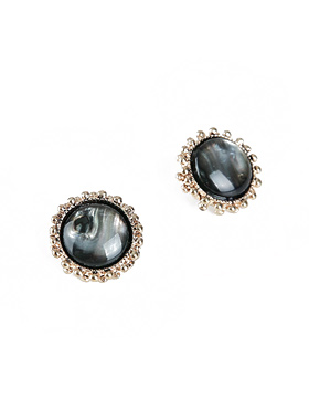 Antique Marble earring