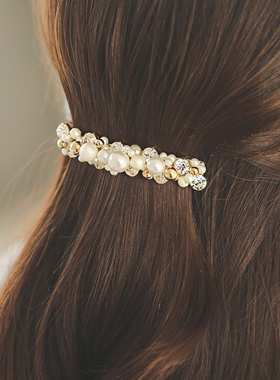 Pure pearl Beads Hairpin