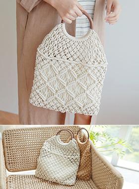 Rounding handle Net Bag