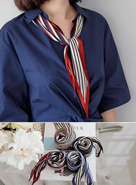 mix Stripe scarf