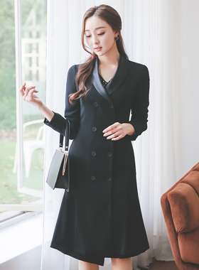 Wing Kara double Dress Long coat