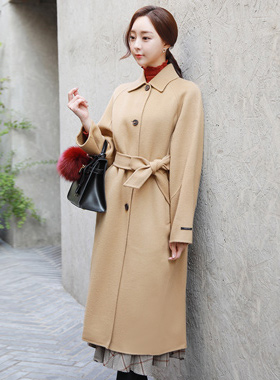 Handmade Easy Pit Taylor Wool Long coat