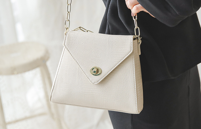 Golden Python Luxury Bag